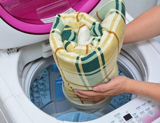 đệm bông ép có giặt được không 2